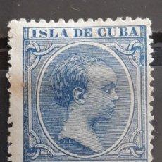 Timbres: CUBA , EDIFIL 136 * , YVERT 84 , 1894. Lote 199348182