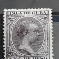 Francobolli: CUBA , EDIFIL 146 *, 1896-97. Lote 199372437