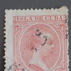Francobolli: CUBA , EDIFIL 148 , YVERT 91 , 1896-97. Lote 199373337