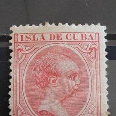 Timbres: CUBA , EDIFIL 148 *, YVERT 91 , 1896-97. Lote 199373656