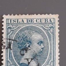 Francobolli: CUBA , EDIFIL 149 , YVERT 92 , 1896-97. Lote 199374946
