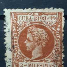 Francobolli: CUBA , EDIFIL 155 , 1898. Lote 199435776