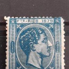 Sellos: PUERTO RICO , EDIFIL 26 *, VER, YVERT 26, 1879. Lote 218553091