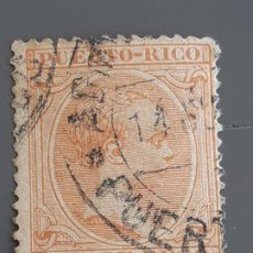 Francobolli: PUERTO RICO , EDIFIL 111 , YVERT 111, 1894. Lote 200324226