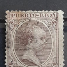 Francobolli: PUERTO RICO , EDIFIL 116 , YVERT 116, 1896-97. Lote 200339750