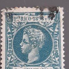 Selos: PUERTO RICO , EDIFIL 136 , YVERT 137, 1898. Lote 200531112