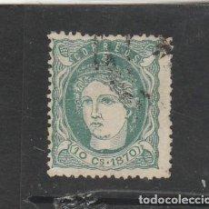 Sellos: ANTILLAS 1870 - EDIFIL NRO. 19 - EFIGIE ALEGORICA - USADO. Lote 200725935