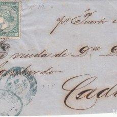 Sellos: FRONTAL CON PAREJA DE SELLOS DE LAS ANTILLAS NUM. 14 ---VAPOR ISLA DE PUERTO RICO-. Lote 200767191