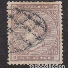 Sellos: CUBA 1868 SELLO NUM. 22 USADO . Lote 200768430