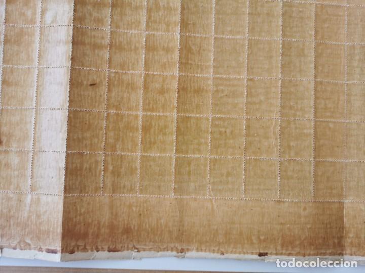 Sellos: PLANCHA CON 200 SELLOS MEDIA MILÉSIMA DE PESO 1896 - ISLA DE CUBA - ALFONSO XIII - RARÍSIMA PLANCHA - Foto 16 - 203216313