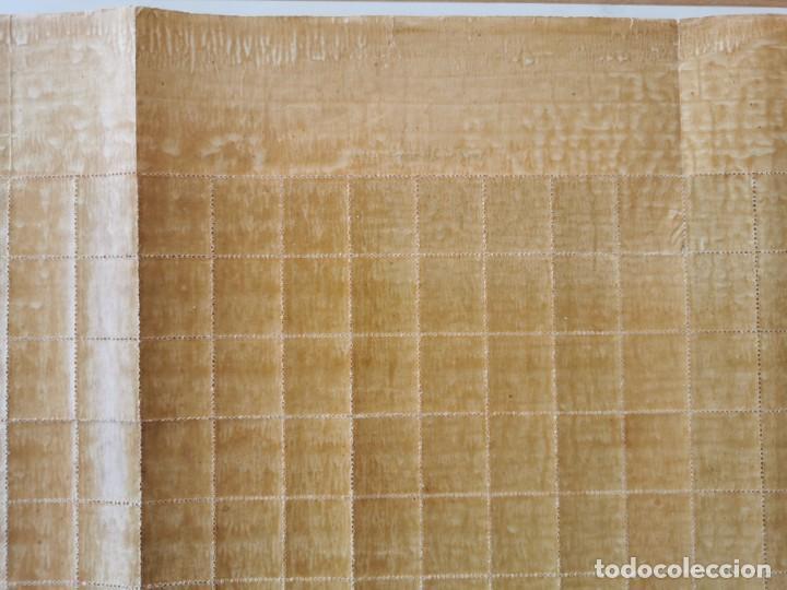 Sellos: PLANCHA CON 200 SELLOS MEDIA MILÉSIMA DE PESO 1896 - ISLA DE CUBA - ALFONSO XIII - RARÍSIMA PLANCHA - Foto 17 - 203216313