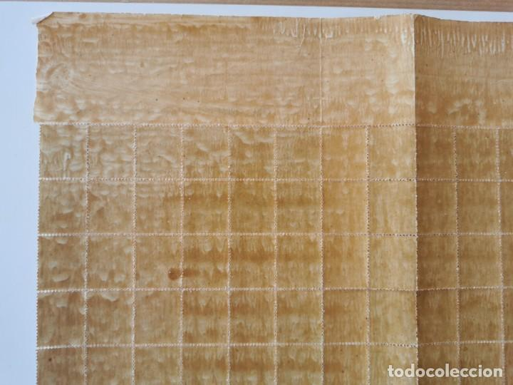 Sellos: PLANCHA CON 200 SELLOS MEDIA MILÉSIMA DE PESO 1896 - ISLA DE CUBA - ALFONSO XIII - RARÍSIMA PLANCHA - Foto 18 - 203216313