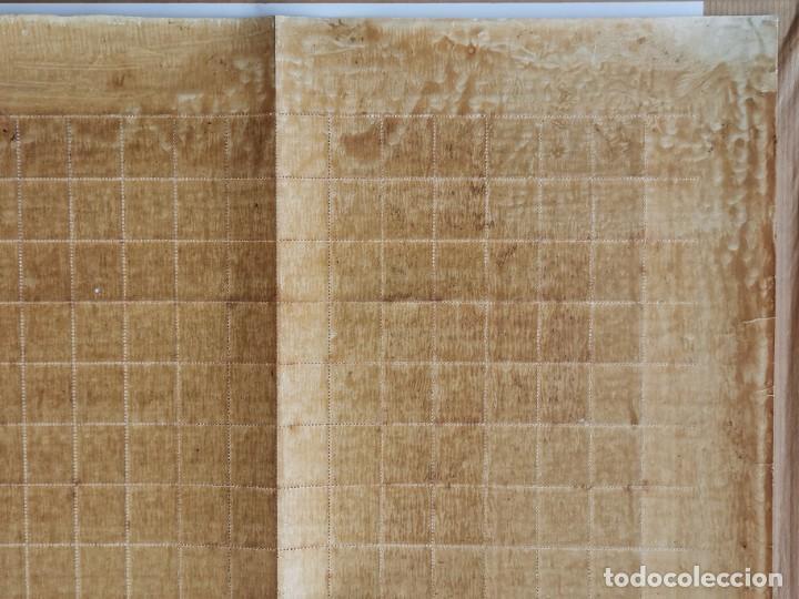 Sellos: PLANCHA CON 100 SELLOS 1 CENTAVOS DE PESO 1890 - ISLA DE CUBA - ALFONSO XIII - EDIFIL 112 - RARÍSIMA - Foto 18 - 203439216