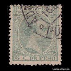 Sellos: PUERTO RICO.18791-92. ALFONSO XIII.5C.USADOEDIFIL 95. Lote 205206873