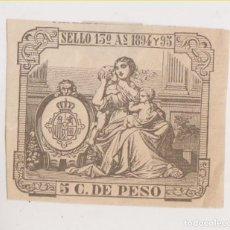 Sellos: SELLO FISCAL. PUERTO RICO. 1894 Y 1895. Lote 205548995