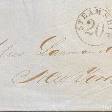 Sellos: CUBA: CARTA CIRCULADA AÑO 1861. Lote 205671702