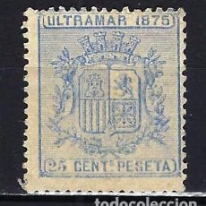 Sellos: 1875 ESPAÑA - COLONIAS - CUBA EDIFIL 32 ESCUDO MNG* NUEVO SIN GOMA SIN FIJASELLOS. Lote 206138671
