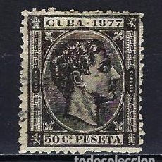 Sellos: 1877 ESPAÑA - COLONIAS - CUBA EDIFIL 42 ALFONSO XII USADO. Lote 206138866