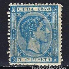Sellos: 1878 ESPAÑA - COLONIAS - CUBA EDIFIL 44 ALFONSO XII USADO. Lote 206138902