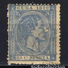 Sellos: 1879 ESPAÑA - COLONIAS - CUBA EDIFIL 53 ALFONSO XII USADO. Lote 206139190