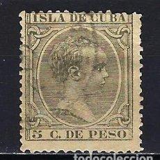 Sellos: 1890 ESPAÑA - COLONIAS - CUBA EDIFIL 115 ALFONSO XIII TIPO 'PELÓN' USADO. Lote 206139396