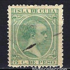 Sellos: 1890 ESPAÑA - COLONIAS - CUBA EDIFIL 127 ALFONSO XIII TIPO 'PELÓN' USADO. Lote 206139800