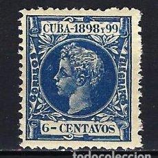 Sellos: 1898 ESPAÑA - COLONIAS - CUBA EDIFIL 164 ALFONSO XIII MNH** NUEVO SIN FIJASELLOS. Lote 206140365
