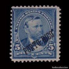 Sellos: PUERTO RICO.1899.HABILITADO.5C BLUE .MNG. SCOTT 212. Lote 139274798
