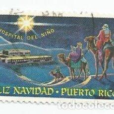 Sellos: SELLO USADO DE PUERTO RICO- FELIZ NAVIDAD- HOSPITAL DEL NIÑO. Lote 206471712