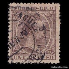 Sellos: PUERTO RICO.1894.ALFONSO XIII.1C.USADO.EDIFIL 106. Lote 207355366