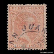 Sellos: PUERTO RICO.1894.ALFONSO XIII.6C.USADO.EDIFIL 111. Lote 207355737