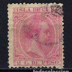 Sellos: 1894 CUBA ALFONSO XIII EDIFIL 137 USADO. Lote 210146607
