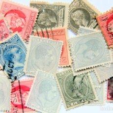 Sellos: A156 LOTE 21 SELLOS CUBA Y PUERTO RICO DESDE 1880. Lote 210706802