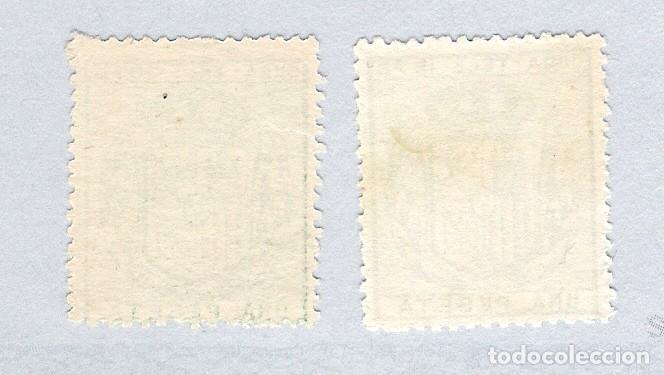 Sellos: 1878. Isabel II. Cuba telegrafos, edifil 43.PAREJA. (*) - Foto 2 - 212697868