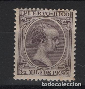 TV_001.B2.G15/ PUERTO RICO, EDIFIL 89 MNH**, ALFONSO XIII, EL PELON (Sellos - España - Colonias Españolas y Dependencias - América - Puerto Rico)