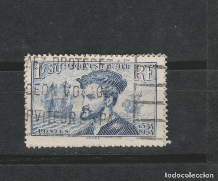 LOTE (19) SELLO FRANCIA AÑO 1934 (Sellos - España - Colonias Españolas y Dependencias - América - Otros)