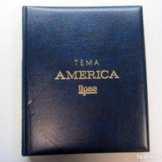 Sellos: ÁLBUM DE SELLOS. TEMA AMÉRICA. UNIÓN POSTAL DE LAS AMÉRICAS Y ESPAÑA. COMPLETO.. Lote 216479908