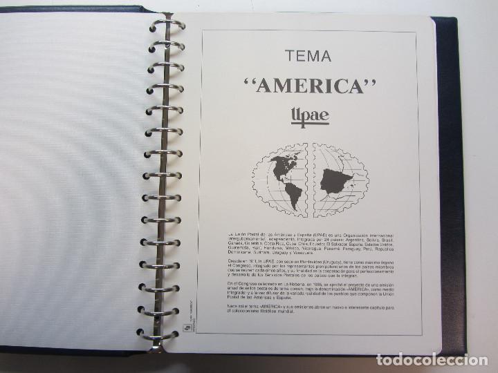 Sellos: Álbum de sellos. Tema América. Unión Postal de las Américas y España. Completo. - Foto 4 - 216479908