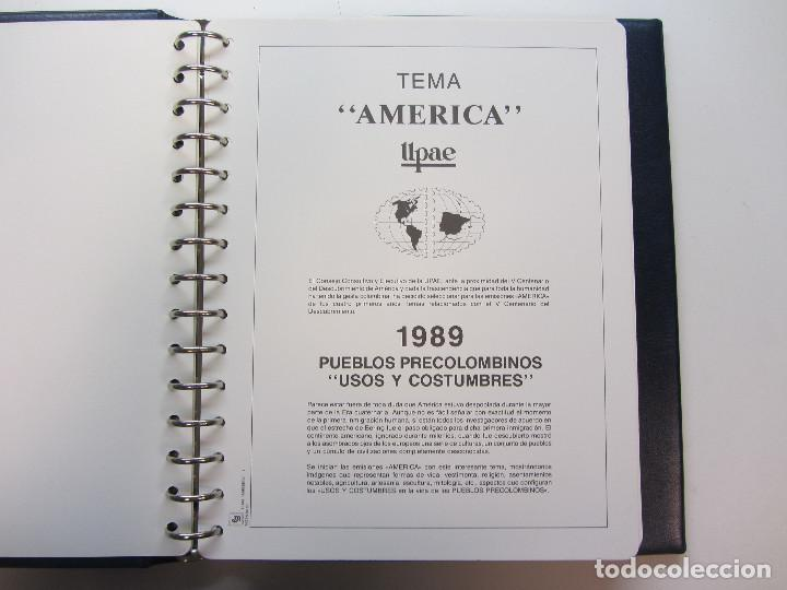 Sellos: Álbum de sellos. Tema América. Unión Postal de las Américas y España. Completo. - Foto 5 - 216479908