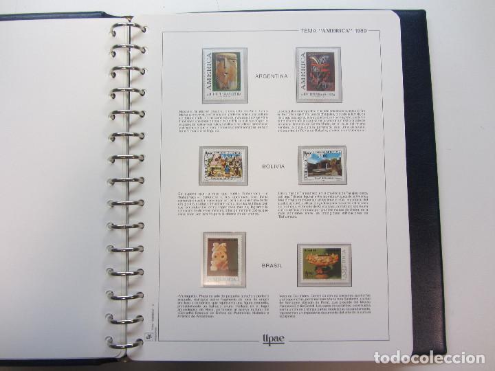 Sellos: Álbum de sellos. Tema América. Unión Postal de las Américas y España. Completo. - Foto 6 - 216479908