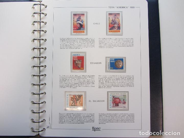 Sellos: Álbum de sellos. Tema América. Unión Postal de las Américas y España. Completo. - Foto 8 - 216479908