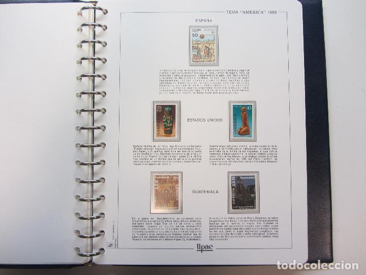 Sellos: Álbum de sellos. Tema América. Unión Postal de las Américas y España. Completo. - Foto 9 - 216479908