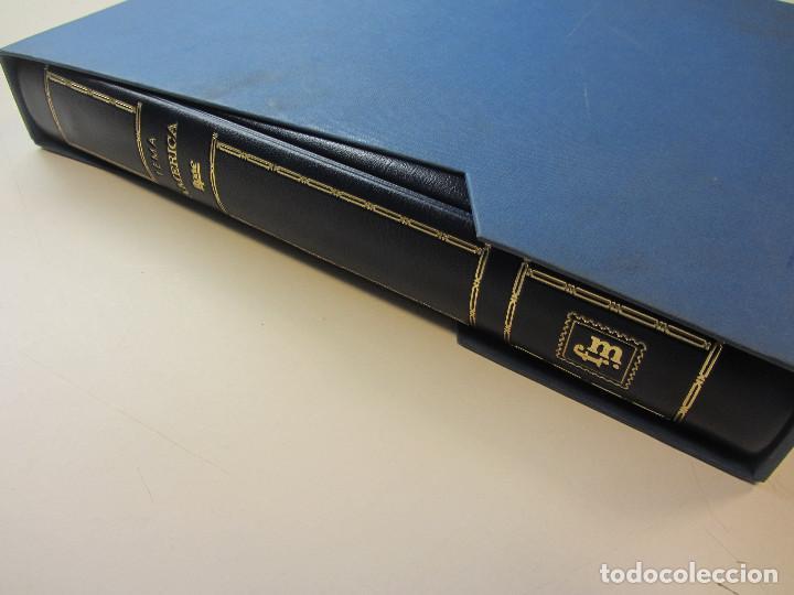 Sellos: Álbum de sellos. Tema América. Unión Postal de las Américas y España. Completo. - Foto 11 - 216479908