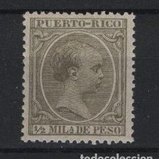 Sellos: TV_001/ PUERTO RICO 1890/7, **/*, Nº 88. Lote 219615910