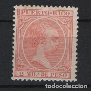 TV_001/ PUERTO RICO 1890/7 **/*, Nº 89 (Sellos - España - Colonias Españolas y Dependencias - América - Puerto Rico)