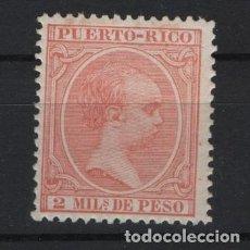 Sellos: TV_001/ PUERTO RICO 1890/7 **/*, Nº 89. Lote 219617893
