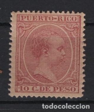 TV_001/ PUERTO RICO 1890/7 **/*, Nº119 (Sellos - España - Colonias Españolas y Dependencias - América - Puerto Rico)