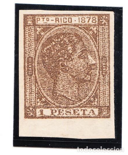 1878 PUERTO RICO EDIFIL 22 SIN DENTAR NUEVO (Sellos - España - Colonias Españolas y Dependencias - América - Puerto Rico)
