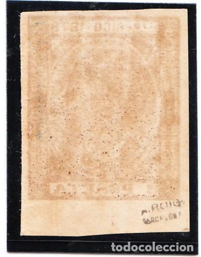 Sellos: 1878 PUERTO RICO EDIFIL 22 SIN DENTAR NUEVO - Foto 2 - 220238020