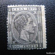 Sellos: CUBA, 1877,ALFONSO XII, EDIFIL 42. Lote 220944437